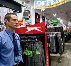 Security Guard in Store