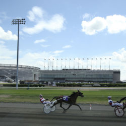 Meadowlands Horse Track Racing